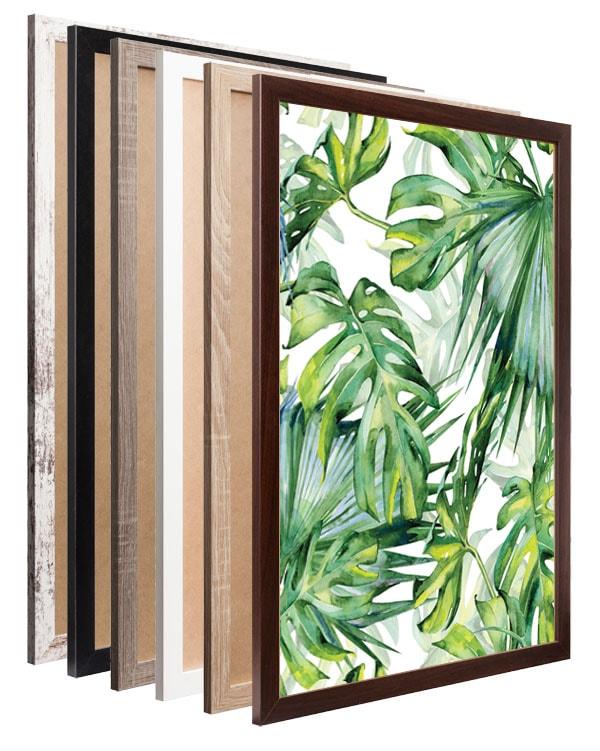 Drewniane ramki – świetne w każdym wnętrzu