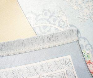 dywan do salonu biały wzory
